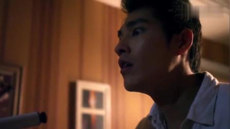 电梯惊魂:深夜男子在家用望远镜观望医院,发现见到自己!