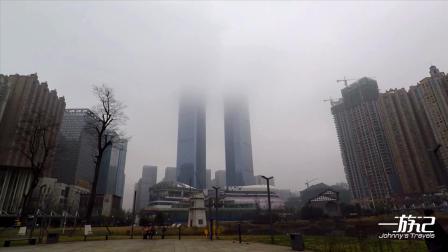 花果园双子塔楼,贵州贵阳地标式建筑,高达406米
