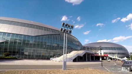 云南曲靖文化体育公园,规模巨大,不愧是云南第二大城市