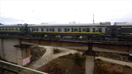 从贵阳坐火车去凯里,跟大家分享一段沿途的风光