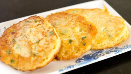 家常土豆鸡蛋饼的做法,营养健康的美味小饼,老人孩子超爱