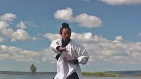 清朝黄族贵胄后代金子弢回传武当的一套拳法,如今成为武当至宝