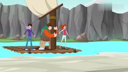 兽王争锋:泰羽三人来到神庙,看到了一块石头,以为这是泰坦之石