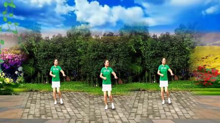 四川达州开心快乐演示邵东跳跳乐十八套快乐舞步健身操第2节 编操 朱晓敏