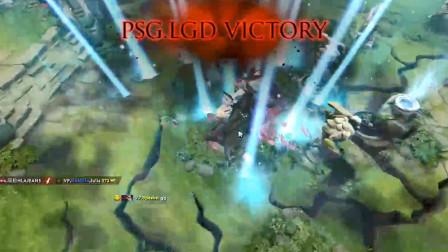 DOTA2 TI9:淘汰赛开打,LGD拿下中国军团开门红,2:0横扫VP