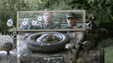 大众甲壳虫的前身,二战德国VW82水桶吉普车,帮纳粹军官冲出包围
