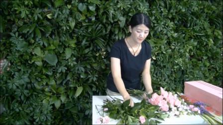 母亲节礼盒花束包装教程 零基础花艺培训视频课程