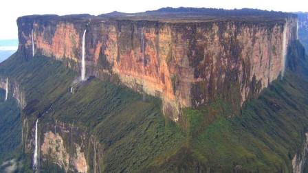 """""""世界尽头""""的山峰,365天雨水不断,山顶平坦却形成了最大的瀑布"""