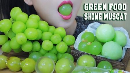【玲玲小姐姐】绿色食品——亮肌拼盘(冰激凌球、雨果蛋糕、果冻、糖葫芦)林-(2019年7月28日16时10分)
