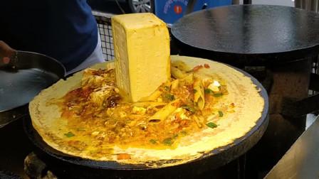 孟买经典,印度风味咖喱煎饼,黄油是重点