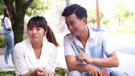 广西山歌,隔河看见小情妹,阿科、王妃山歌场上谈感情