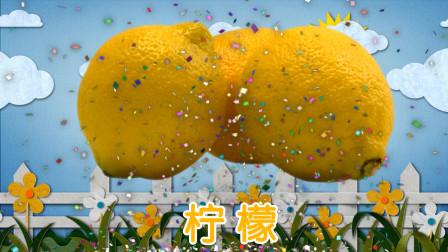 砸蛋游戏 认识柠檬等6种水果