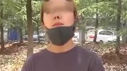 安徽合肥一女孩花6万整容 术后鼻孔一大一小