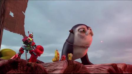 爆笑虫子:一只螃蟹能把人拎出火山浆,不可思议