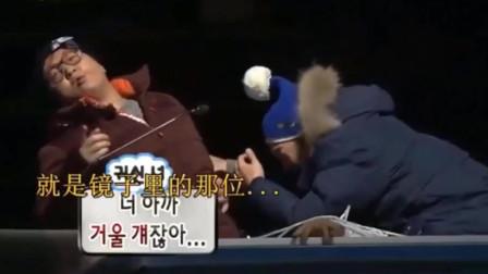 无限挑战:刘在石吓得最惨的一次,下意识的叫妈妈,好搞笑