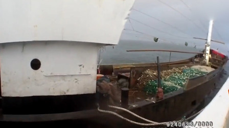 渔船撞山将沉没13人被困 船老大却拒绝救援