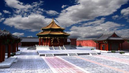 沈阳故宫,号称盛京,客流量不足北京故宫的五分之一