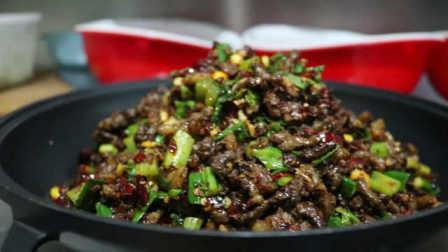 布依族干锅马肉,和特色米酒秘制泡菜是绝配