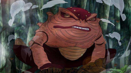 《火影忍者》这个蛤蟆仅出场一次,曾吓退鼬神,连鸣人都无法召唤