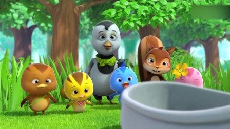 萌鸡小队2:奶奶找到一只鞋,让萌鸡们和小松鼠坐上去,这怎么玩