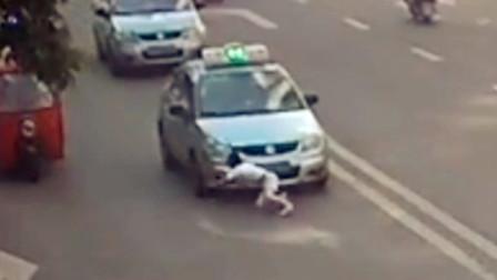 【重庆】女孩与奶奶起争执 赌气跑过马路被车撞倒