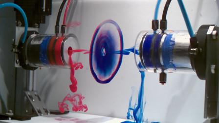 老外研究水中涡环撞击,耗费4年精力,成功瞬间美到让人窒息!
