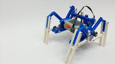 乐高优秀作品分享—四足爬行机器人