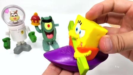 海绵宝宝黏土玩具