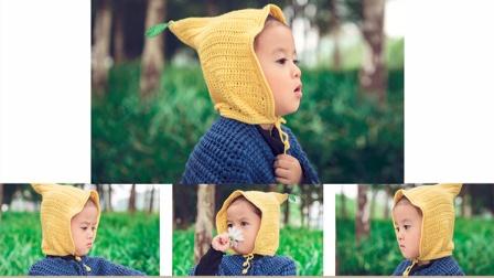 【A44上集】月半手作毛线编织儿童柠檬帽子教程毛线简易织法