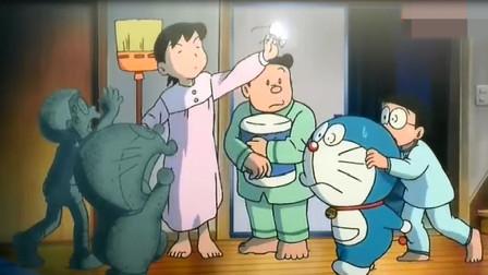 哆啦A梦:大雄想要有魔法,用如果电话亭创造了一个有魔法的世界
