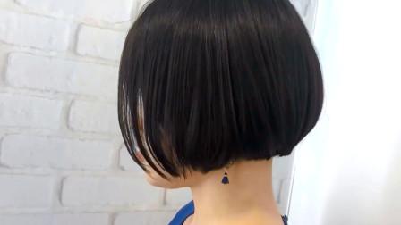 这才是黑色头发该有的发型,瘦脸显年轻,气质真好