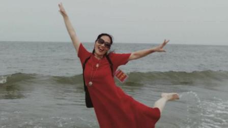 湘女王《北海滩的情怀》慢拍微视频   制作:湘女王