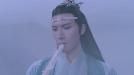 陈情令:魏无羡被人揪着领子,还一直在说话,江澄看不下去了!