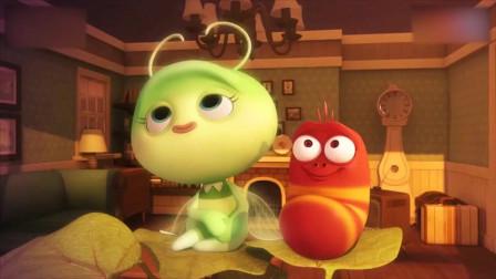 爆笑虫子:小红在小绿谈恋爱了,小黄怎么办