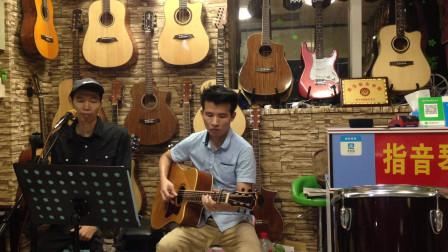 从化吉他弹唱 月半小夜曲(方伯林 关锡波)