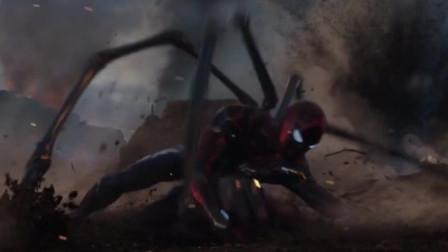 蜘蛛侠八爪装备首次使用,还要小辣,美队,武神集体救援,才得救