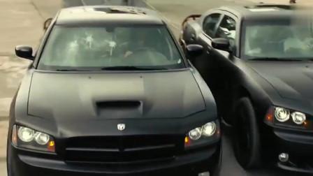 速度与激情:你知道汽车道奇战马的马力有多大?你看完这一段就明白了!