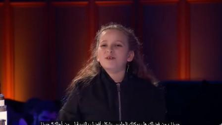 国外达人秀:她来了,抱着魔法盒子的小女孩