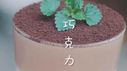 这可是盆栽,巧克力酸奶盆栽