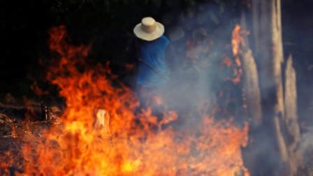 亚马逊雨林大火连烧三周,城市白天宛如黑夜!巴西总统:无能为力
