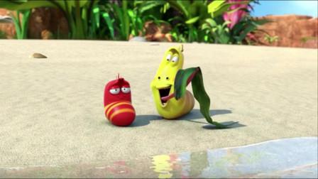 爆笑虫子:黄虫放毒气想熏晕红虫,不料自己被熏晕