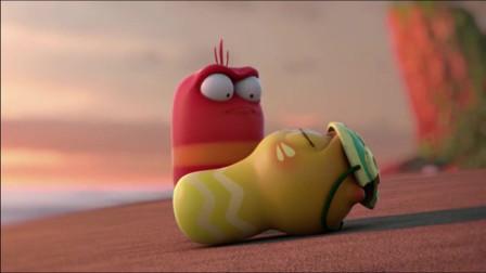 爆笑虫子:红虫爱上落水少女,为她啃了一场桃花晚餐