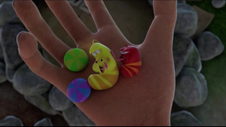 爆笑虫子:虫虫偷糖伪装成彩虹糖,却被黄虫的毒气出卖