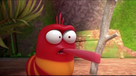 爆笑虫子:沙雕吃糖尽显舌头功,糖被舔得很舒服吧