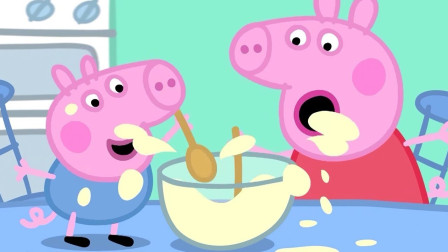 糟糕!小猪佩奇和乔治把什么东西弄坏了?猪爸爸生气了吗?儿童趣味游戏玩具故事