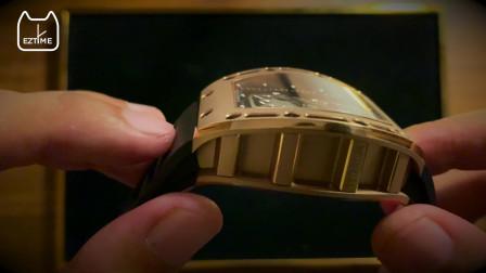 """【壕物】""""我早就戴着骷髅Richard Mille在我的左腕"""",理查米尔RM052【EZTime轻时精选】"""