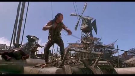 未来水世界:海盗帮部落,女人将性命赌在一个变异人身上,结果真赌对了!