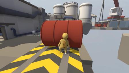 【风笑试玩】蒸汽的力量!丨Human Fall Flat EP8