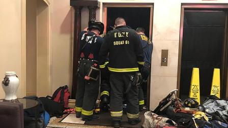 男子出电梯门时被活活压死 监控拍下恐怖瞬间