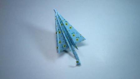 手工折纸,雨伞的折法,简单漂亮超喜欢